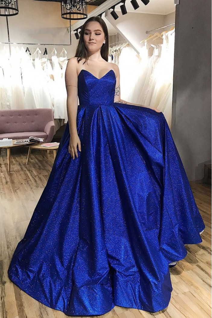 Ball Gown Sparkly Long Prom Dresses Formal Evening Gowns 6011031