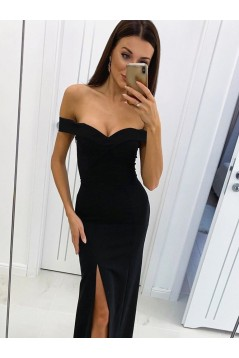 Mermaid Off-the-Shoulder Long Prom Dresses Formal Evening Gowns 6011037
