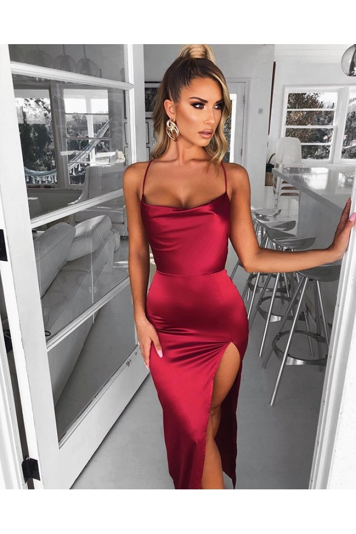 Simple Stunning Long Prom Dresses Formal Evening Gowns 6011047