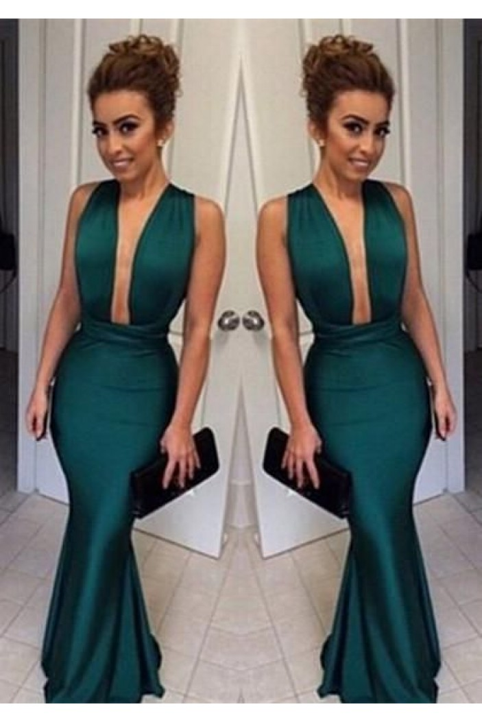 Mermaid Long Prom Dresses Formal Evening Gowns 6011090