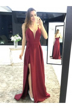 A-Line Long Prom Dresses Formal Evening Gowns 6011098