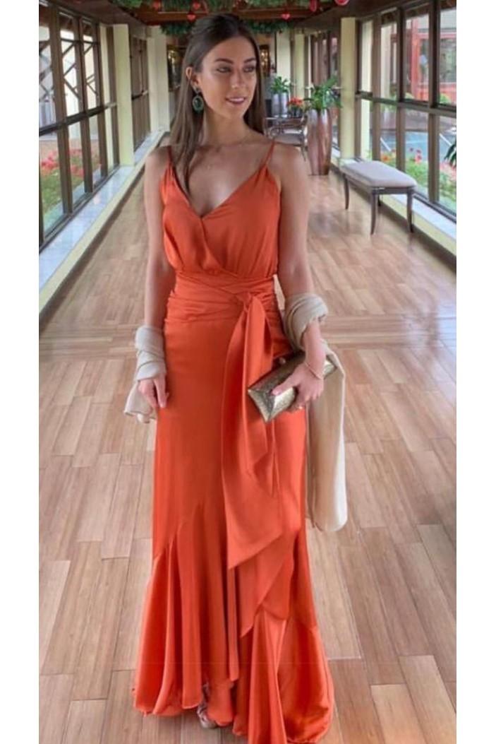 Long V-Neck Prom Dresses Formal Evening Gowns 6011122