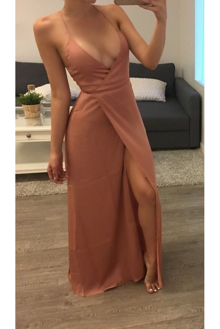 Simple Sexy Long Prom Dresses Formal Evening Gowns 6011174