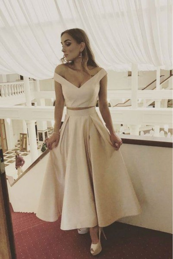 A-Line Off-the-Shoulder Prom Dresses Formal Evening Gowns 6011188