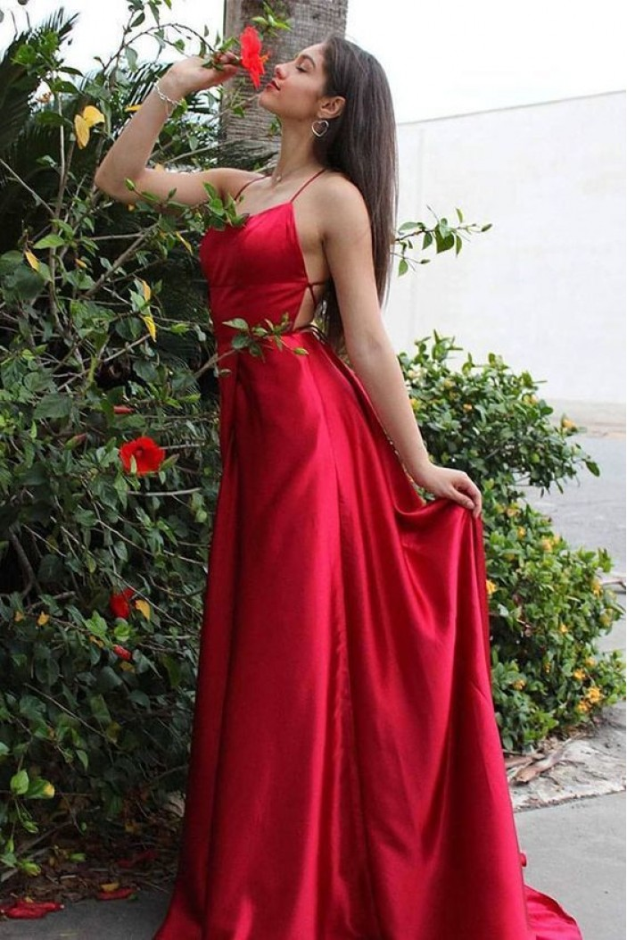 A-Line Long Prom Dresses Formal Evening Gowns 6011192
