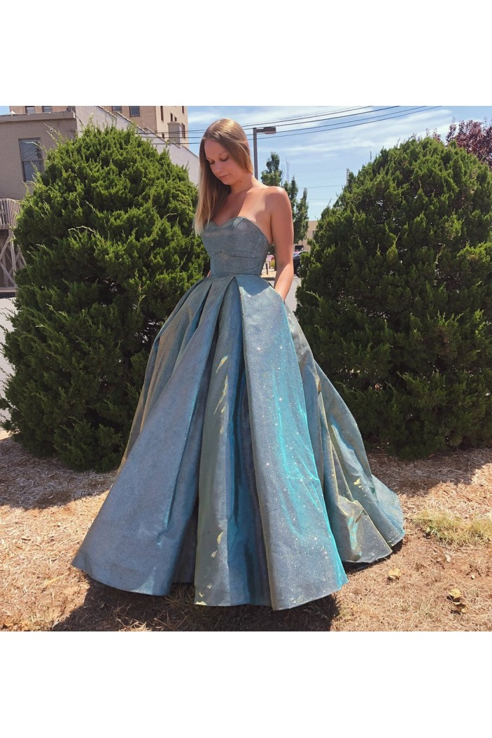 Ball Gown Long Prom Dresses Formal Evening Gowns 6011231
