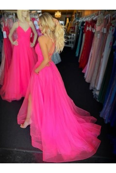 A-Line Long Prom Dresses Formal Evening Gowns 6011360
