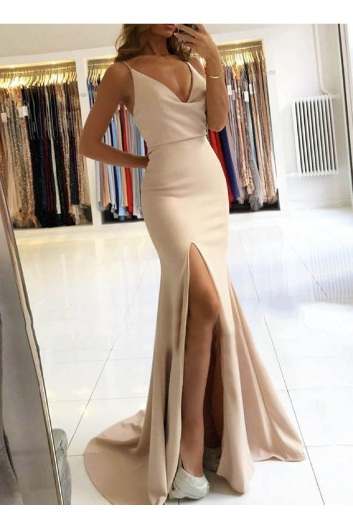 Mermaid Long Prom Dresses Formal Evening Gowns 6011375