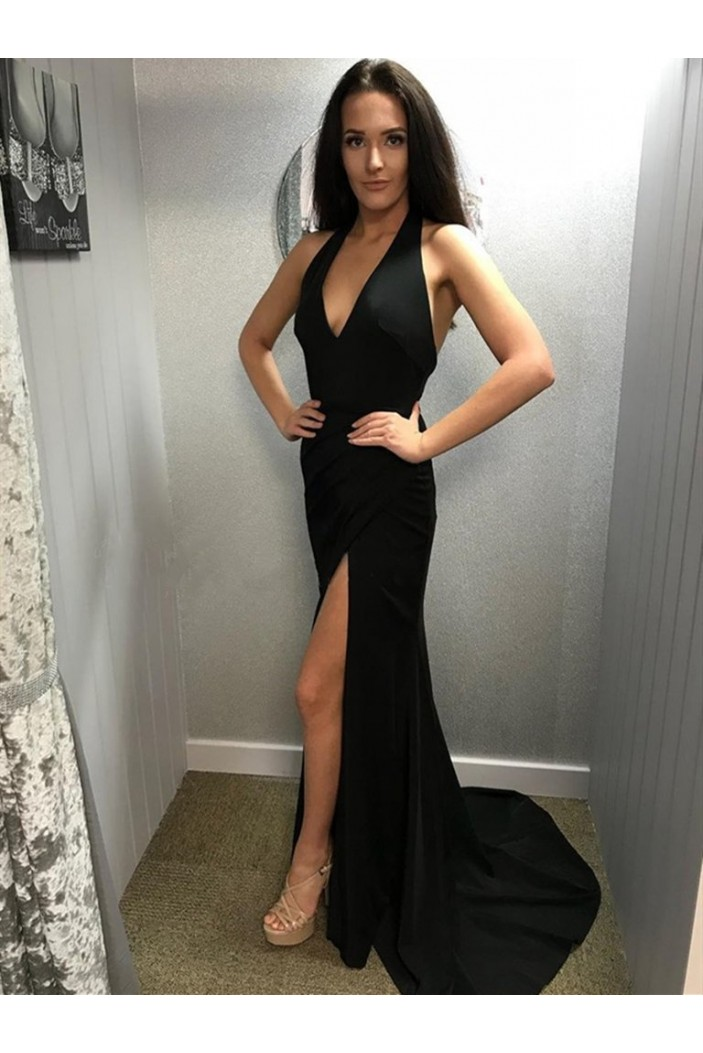 Long Black Prom Dresses Formal Evening Gowns 6011417