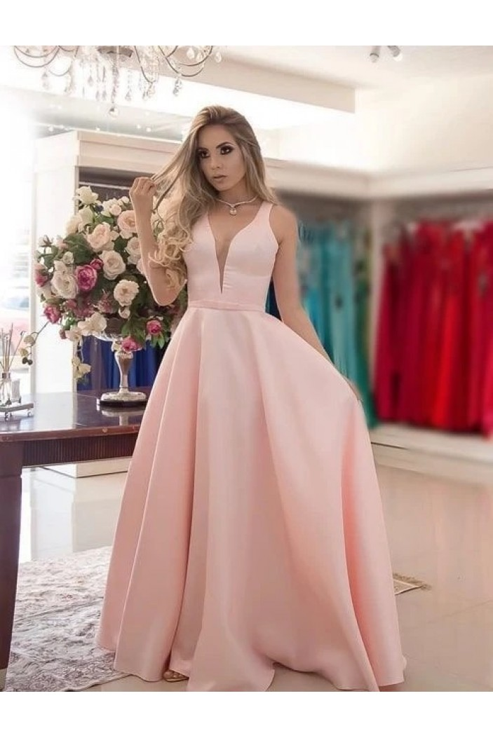 A-Line Long Prom Dresses Formal Evening Gowns 6011435