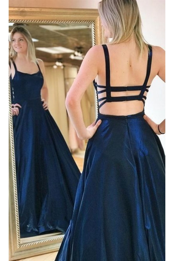 A-Line Long Prom Dresses Formal Evening Gowns 6011530