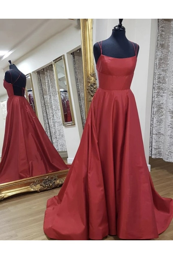 A-Line Long Prom Dresses Formal Evening Gowns 6011539