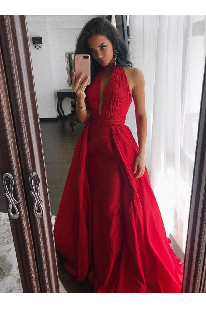 Long Red Prom Dresses Formal Evening Gowns 6011558
