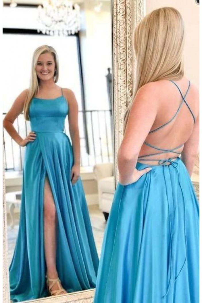 A-Line Long Prom Dresses Formal Evening Gowns 6011573