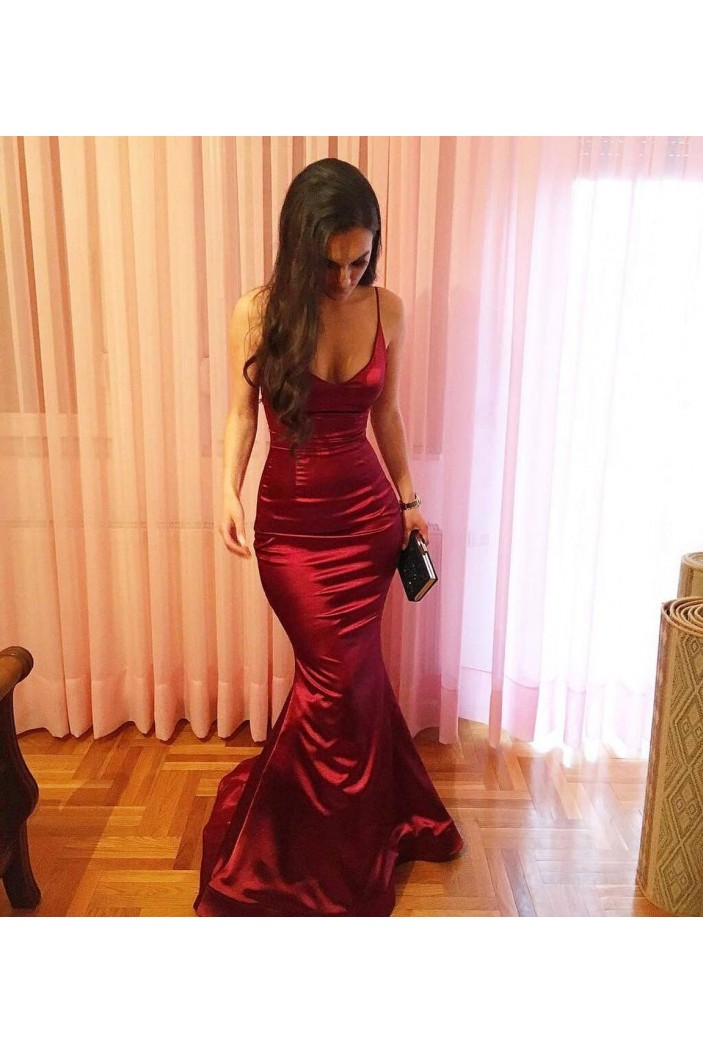 Mermaid Long Prom Dresses Formal Evening Gowns 6011587