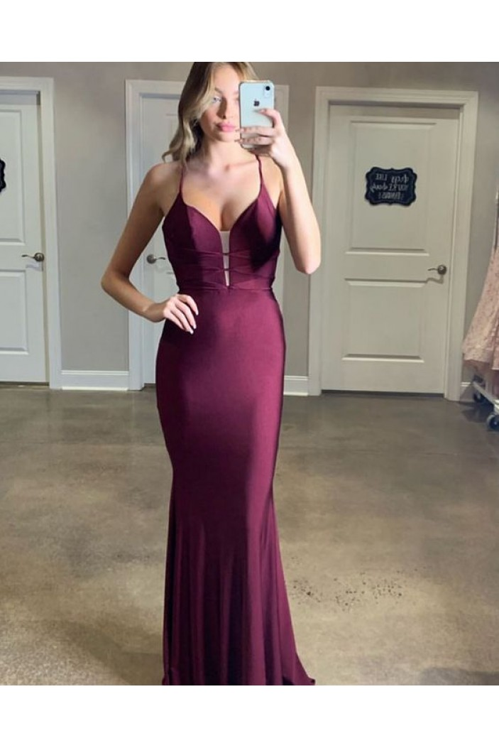 Mermaid Long Prom Dresses Formal Evening Gowns 6011627