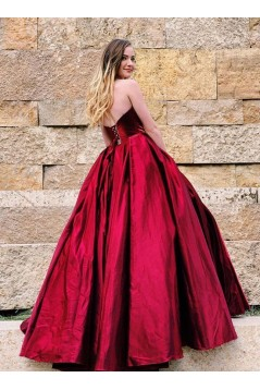 Ball Gown Sweetheart Long Prom Dresses Formal Evening Gowns 6011640