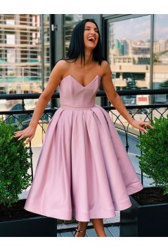 A-Line Short Simple Stunning Prom Dresses Formal Evening Gowns 601868