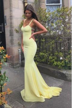 Elegant Mermaid Beaded Long Prom Dresses Formal Evening Gowns 601878