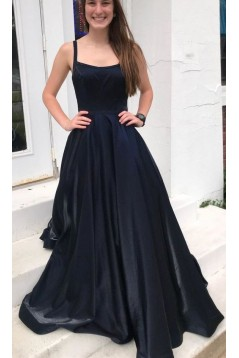 A-Line Long Prom Dresses Formal Evening Gowns 601942
