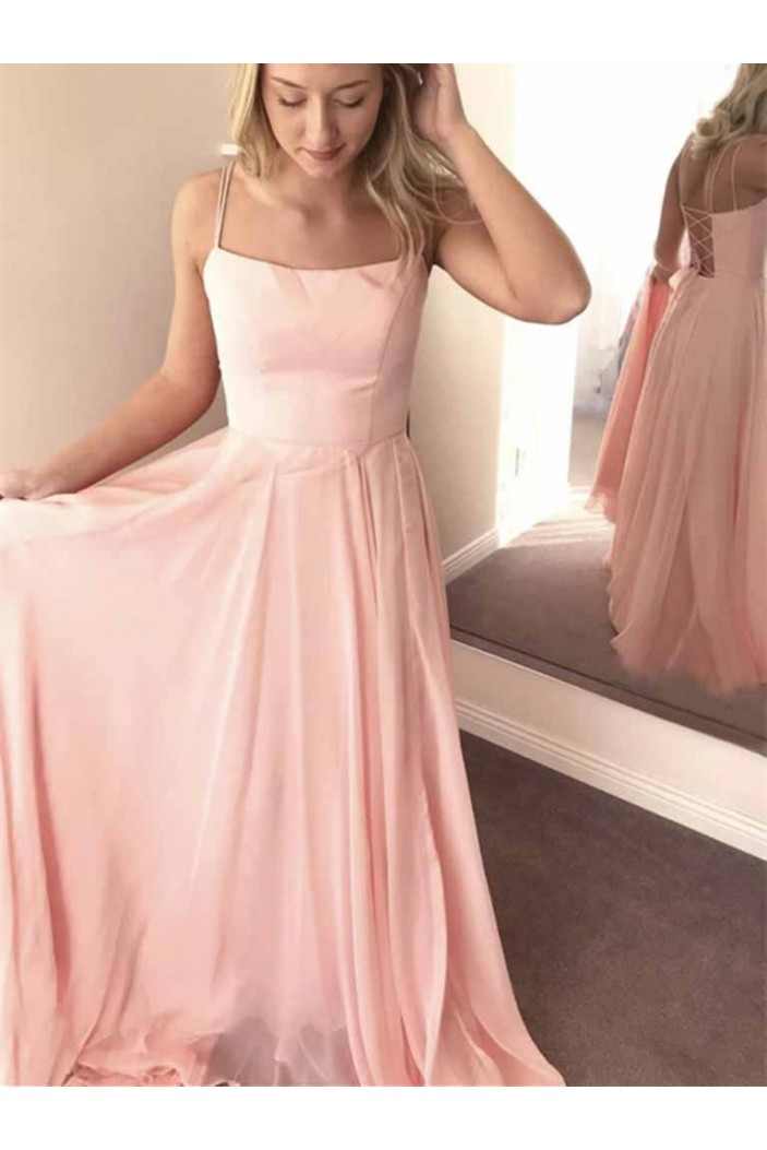 A-Line Long Prom Dresses Formal Evening Gowns 601960