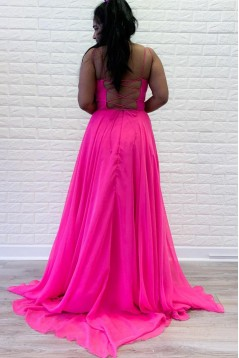 A-Line Long Prom Dresses Formal Evening Gowns 601992