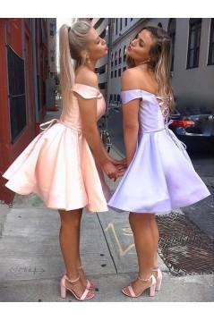 A-Line Short Prom Dress Homecoming Dresses Graduation Party Dresses 701001