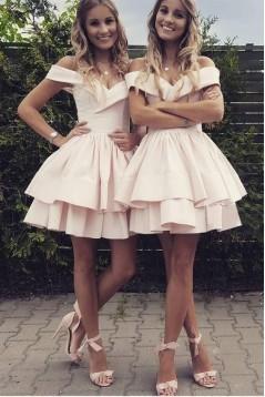 A-Line Short Prom Dress Homecoming Dresses Graduation Party Dresses 701002