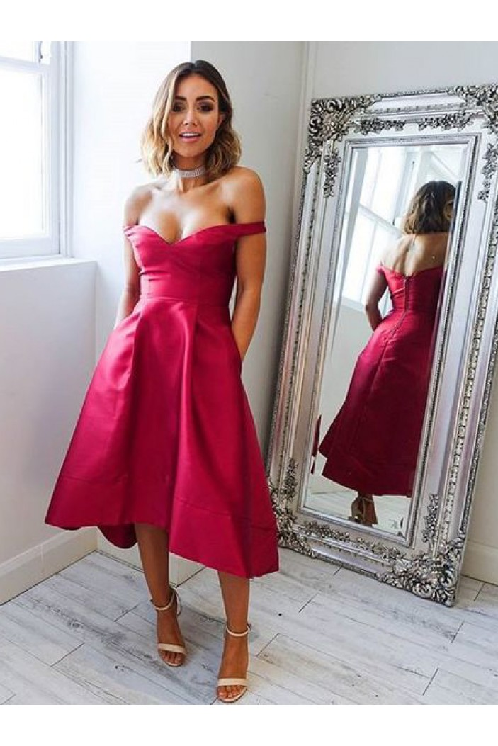 High Low Prom Dress Homecoming Dresses Graduation Party Dresses 701023