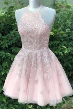 Short Lace Prom Dress Homecoming Dresses Graduation Party Dresses 701027