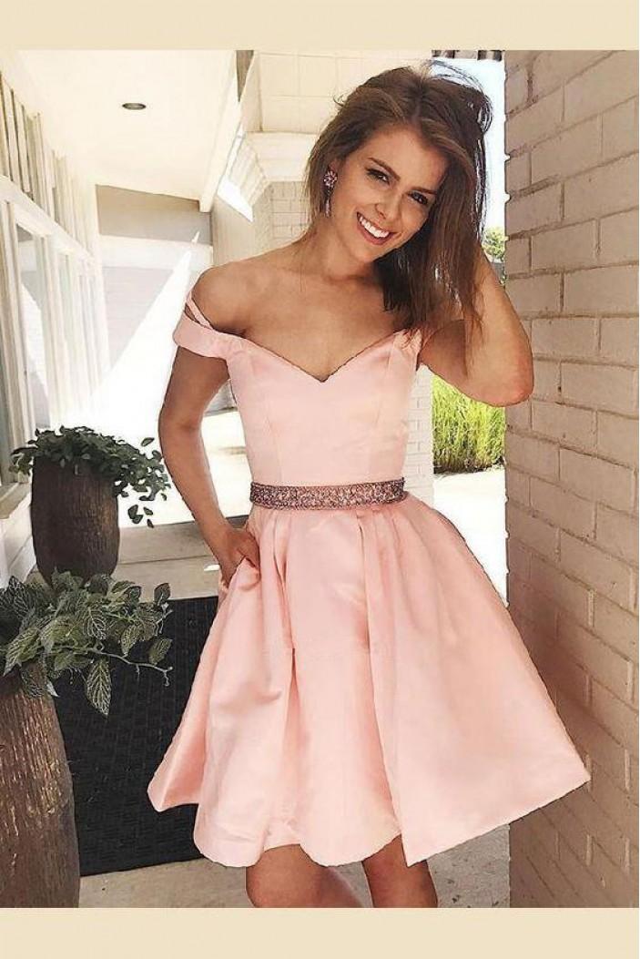 Short Beaded Prom Dress Homecoming Dresses Graduation Party Dresses 701043
