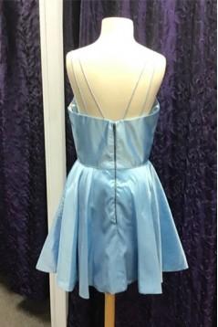 Short Yellow Prom Dress Homecoming Dresses Graduation Party Dresses 701054