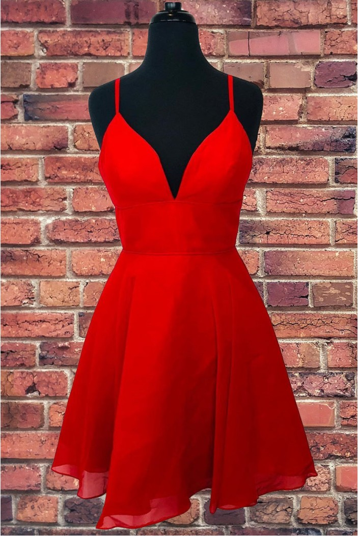 Short Red Prom Dress Homecoming Dresses Graduation Party Dresses 701059
