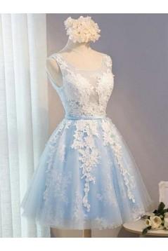 Short Lace Prom Dress Homecoming Dresses Graduation Party Dresses 701064
