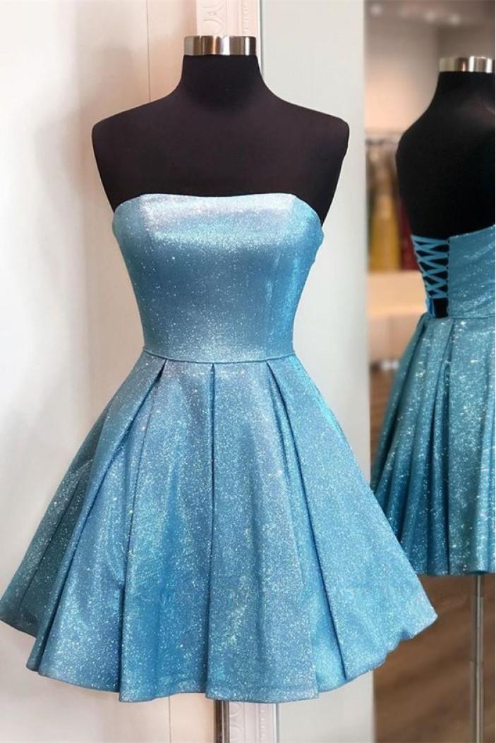 Short Sparkle Prom Dress Homecoming Graduation Cocktail Dresses 701097