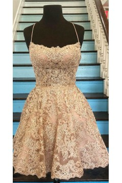 Short Lace Prom Dress Homecoming Graduation Cocktail Dresses 701101