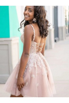 Short Lace Prom Dress Homecoming Graduation Cocktail Dresses 701117