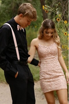 Short Lace Prom Dress Homecoming Graduation Cocktail Dresses 701122