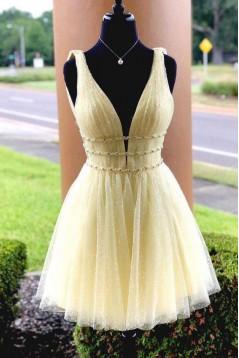 Short Beaded Prom Dress Homecoming Graduation Cocktail Dresses 701141