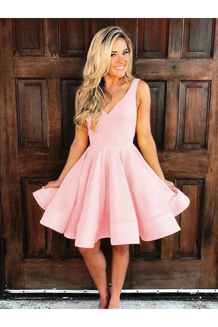 Short Pink Prom Dress Homecoming Graduation Cocktail Dresses 701142