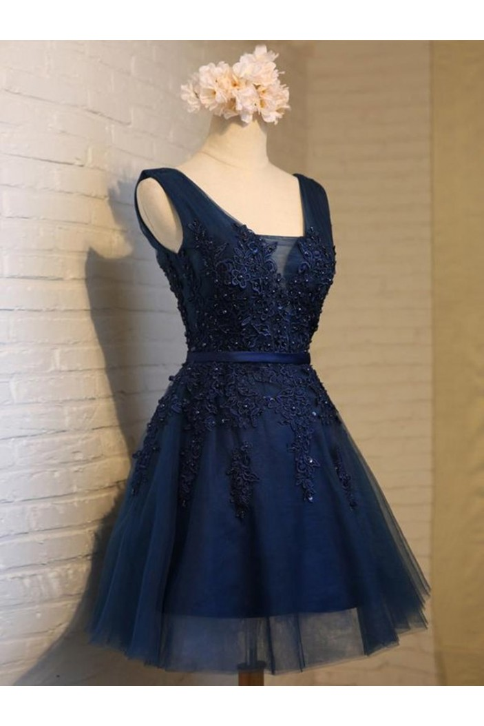 Short Lace Prom Dress Homecoming Graduation Cocktail Dresses 701150