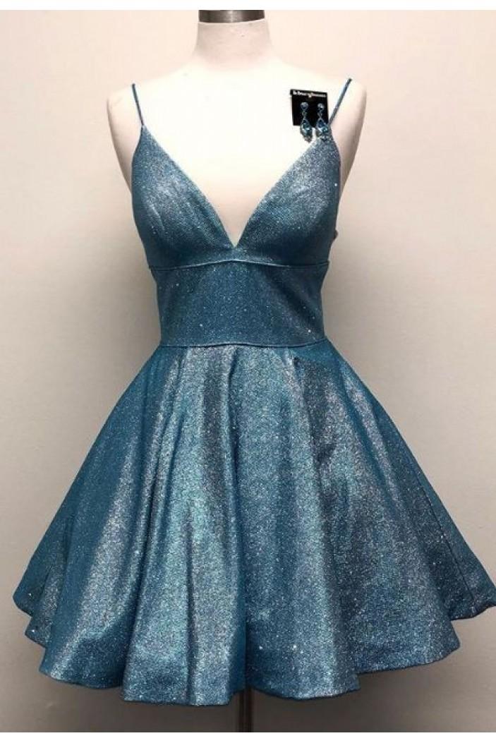 Short Sparkle Prom Dress Homecoming Graduation Cocktail Dresses 701152