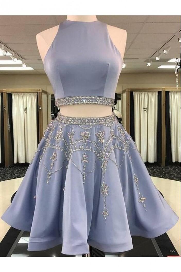Short Beaded Prom Dress Homecoming Graduation Cocktail Dresses 701164
