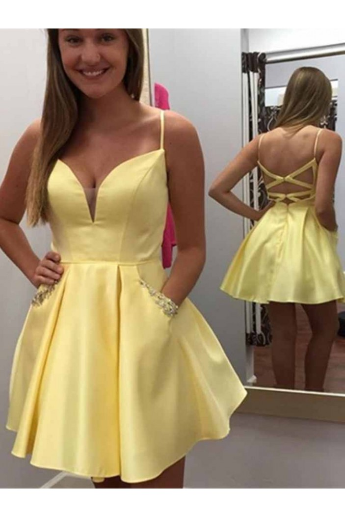 Short Prom Dress Homecoming Graduation Cocktail Dresses 701179