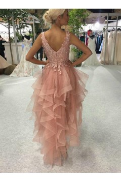 High Low Lace Prom Dress Homecoming Graduation Cocktail Dresses 701184