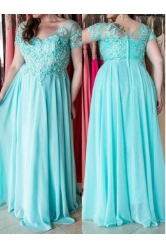 A-Line Beaded Lace Mother of the Bride Dresses 702024