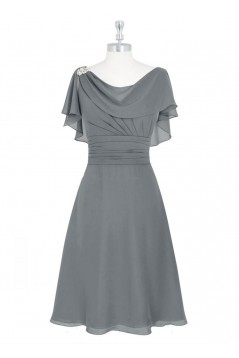Short Chiffon Mother of the Bride Dresses 702081