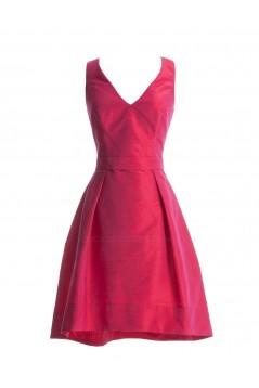 A-Line V-Neck Short Bridesmaid Dresses/Wedding Party Dresses BD010035