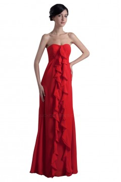 Empire Sweetheart Long Chiffon Bridesmaid Dresses/Wedding Party Dresses/Maternity Dresses BD010041
