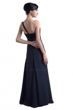 One-Shoulder Long Chiffon Bridesmaid Dresses/Wedding Party Dresses BD010059